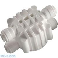 Четырехходовой клапан Organic WB-CV0201W-Q